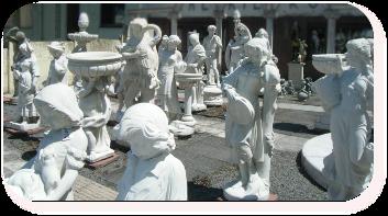 Galerie robert statues fontaines d coration jardin - Statue exterieur pas cher ...